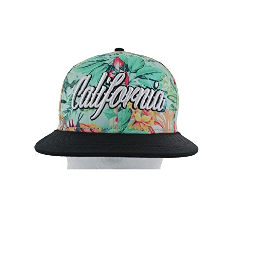 7b05975558cfa CALIFORNIA FLORAL SNAPBACK - GREEN FOREST at Amazon Women s Clothing ...