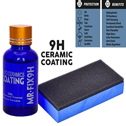 Amazon Com High Gloss Ceramic Car Coating Kit Anti Scratch Car
