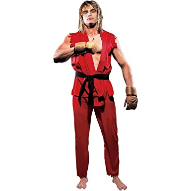 Street Fighter Ken Costume Adult - Small  sc 1 st  Amazon.com & Amazon.com: Street Fighter Ken Costume Adult - Small: Clothing