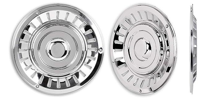 Hansen Styling Parts - Tapacubos de acero inoxidable (4 unidades ...