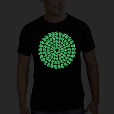 96 Blessings Glow In The Dark Black Spiritual India Graphic