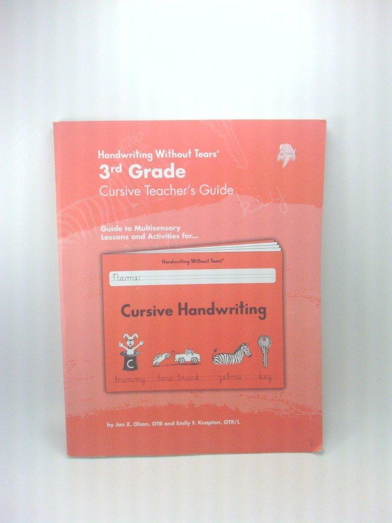 3rd Grade Cursive Teacher's Guide PDF