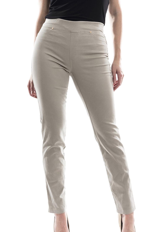 Joseph Ribkoff Khaki Stretch Skinny Pant Style 173424