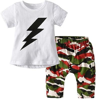 Pants Tracksuit 2PCS Set 1-3Y Baby Boy Clothes Kids Clothing Set Striped Tops