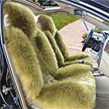 Peiji 3Pcs Luxury Interior Thick Wool Car Seat Cover Set,...