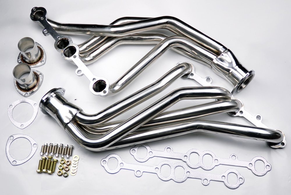 Chevy Small Block 1963-1982 V8 305 327 350 Race Exhaust Long Tube Headers by TUNERBITS
