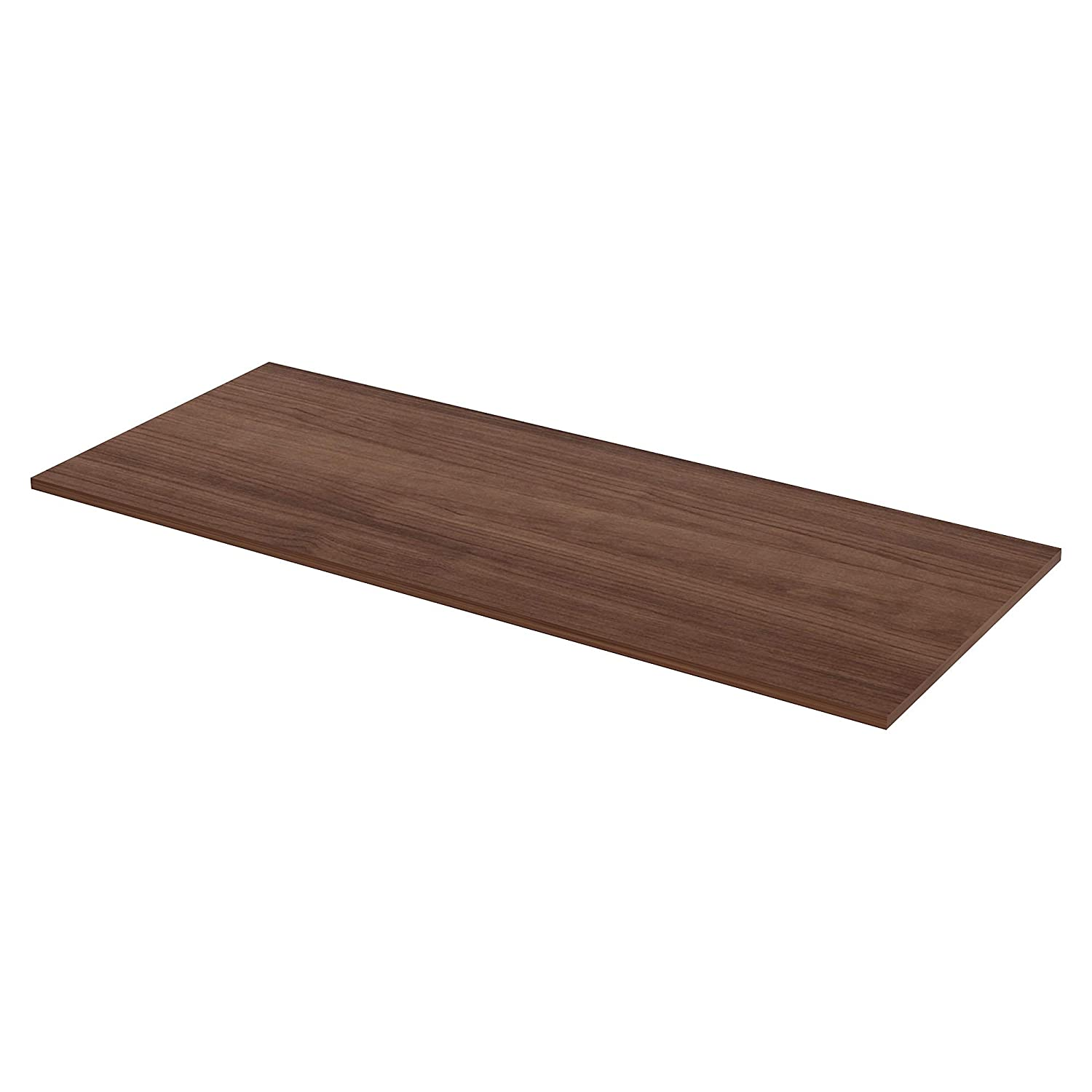 Lorell 34407 Active Office Relevance Table Top, Walnut,Laminated