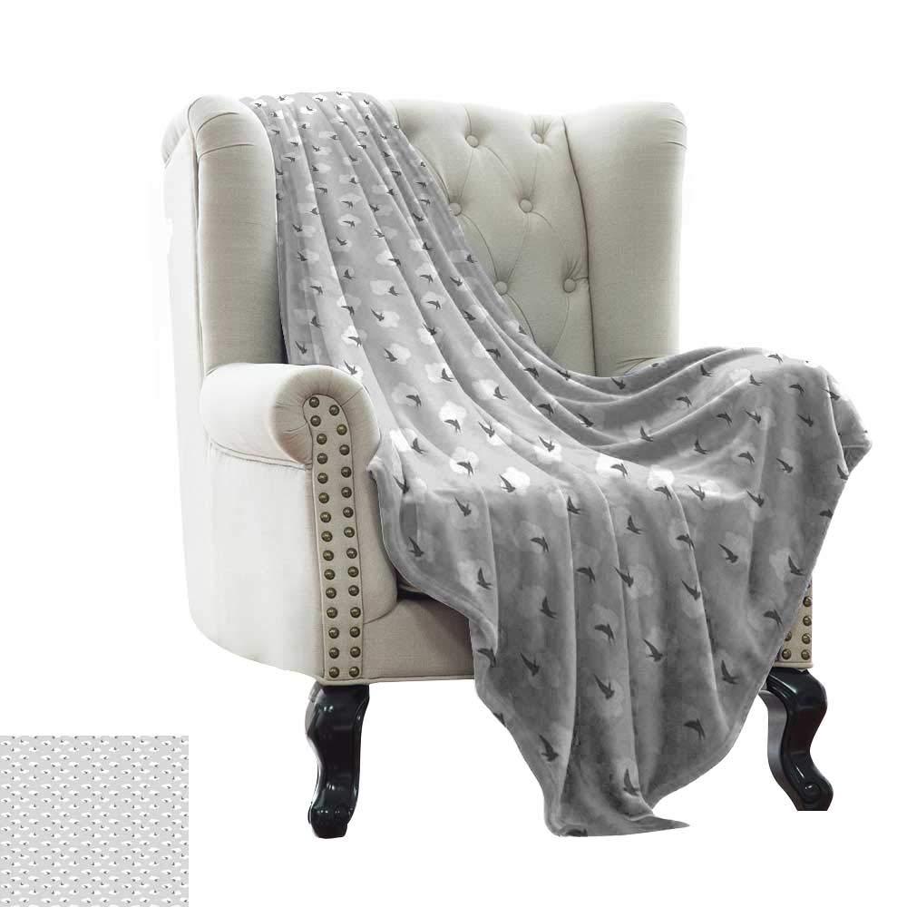 Pleasant Amazon Com Lswow Baby Blanket Grey Dark Swallow Bird Theyellowbook Wood Chair Design Ideas Theyellowbookinfo