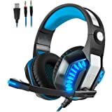 Gaming Headset for PS4 Xbox One Beexcellent GM-2 Gaming Headset with Mic -Sound
