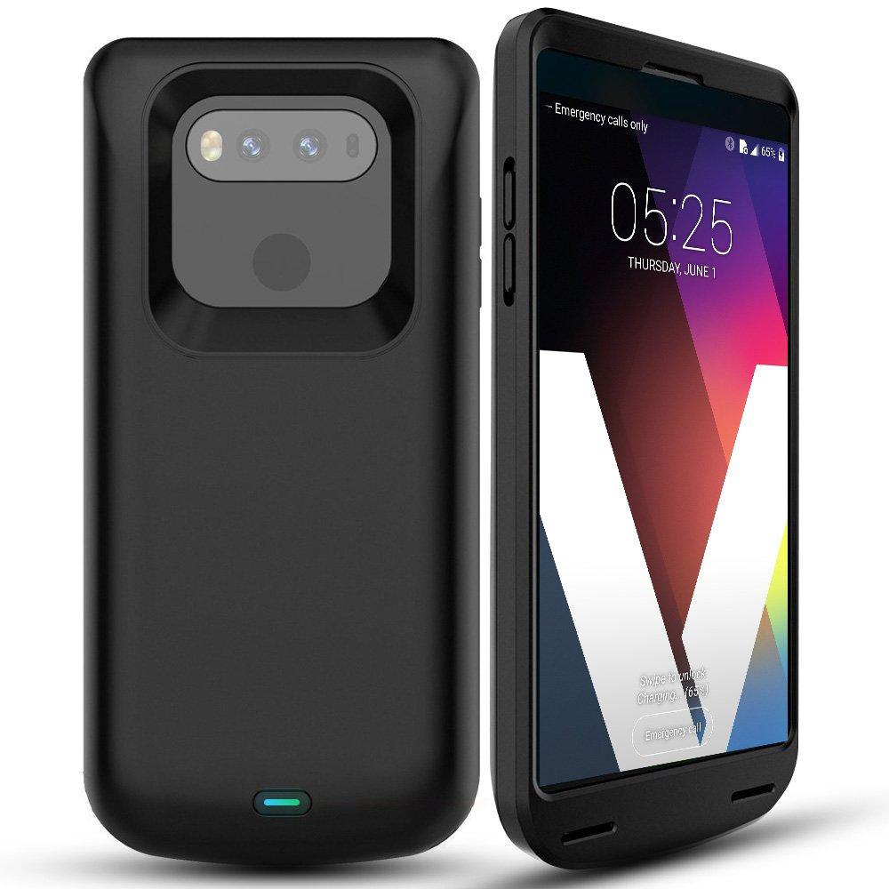 timeless design 20855 208b5 LG V20 Battery Case, ALCLAP 5000mAh LG V20 Charger Case,Slim Portable  Charging Case for LG V20,Extended Battery Juice Pack Case/Type C Cable  Input ...