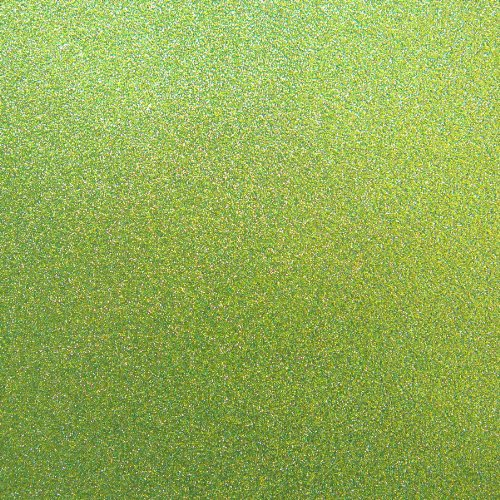 Best Creation 12-Inch by 12-Inch Glitter Cardstock, Olive Green