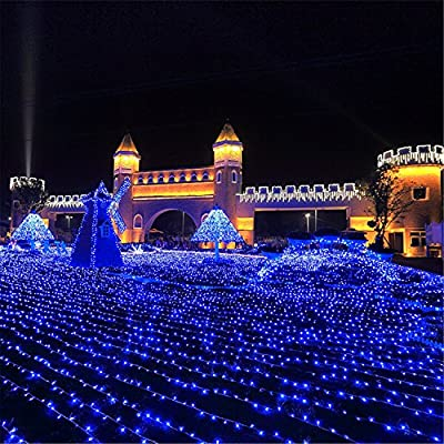 ER CHEN 10m 100 Leds PVP Wire Waterproof LED String Lights Fairy Lights Indoor Outdoor Holiday Decorations, Power Supply 3AA Battery