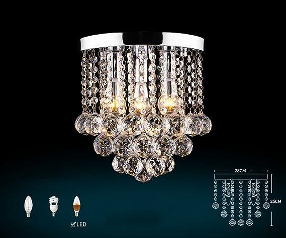 Plafoniere Cristallo Prezzi : Lampade a sospensione lampadario di cristallo lusso k9