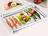 TeamFar Stainless Steel Compact Toaster Oven Pan