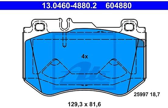 ATE 13.0460-5780.2 Brake Pads