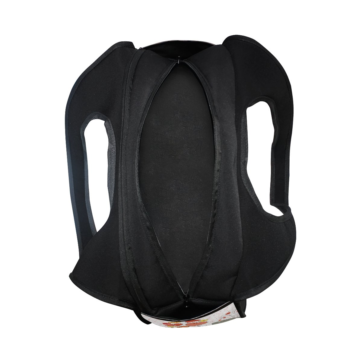 AHOMY Sports Gym Bag Elephant Love Heart Duffel Bag Travel Shoulder Bag by AHOMY (Image #5)