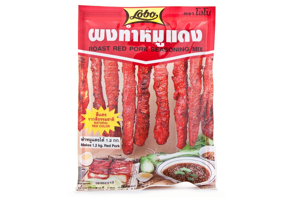 Lobo Roast Red Pork Seasoning Sauce 100g