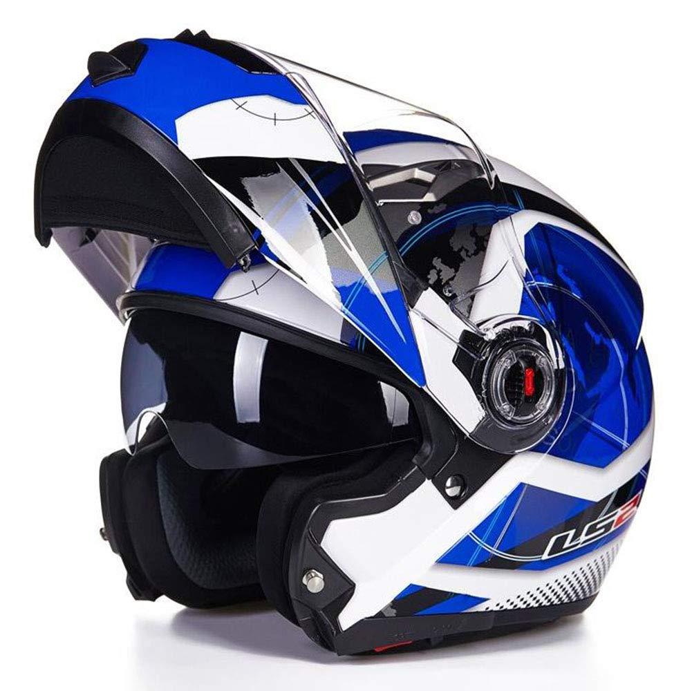 1-1 Draussen Sicherheit Radfahren Helme Rennen Vollgesicht Flip-Up Anti-UV Anti Nebel Anti-Fall Schutzausrüstung
