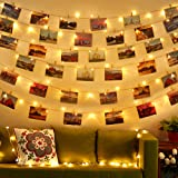String Photo Lights, [Lengthen Version] Diyife 33ft/10m Photo Clip String Lights,100 LED Fairy Lights with Clips, Photo…