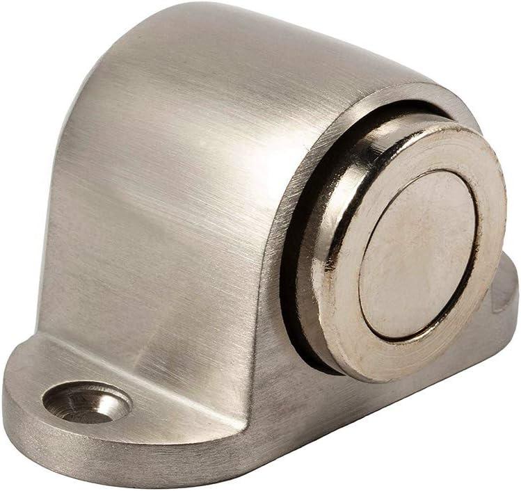 TaleeMall Tope para Puerta Magnético - Compacto Metal Tope de Puerta iman de Acero Inoxidable