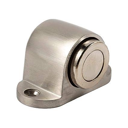 Magnetic Door Stop Catch - Compact Stainless Steel Metal Magnet Door stopper