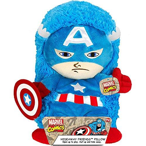 14″ Captain America Hideaway Pet