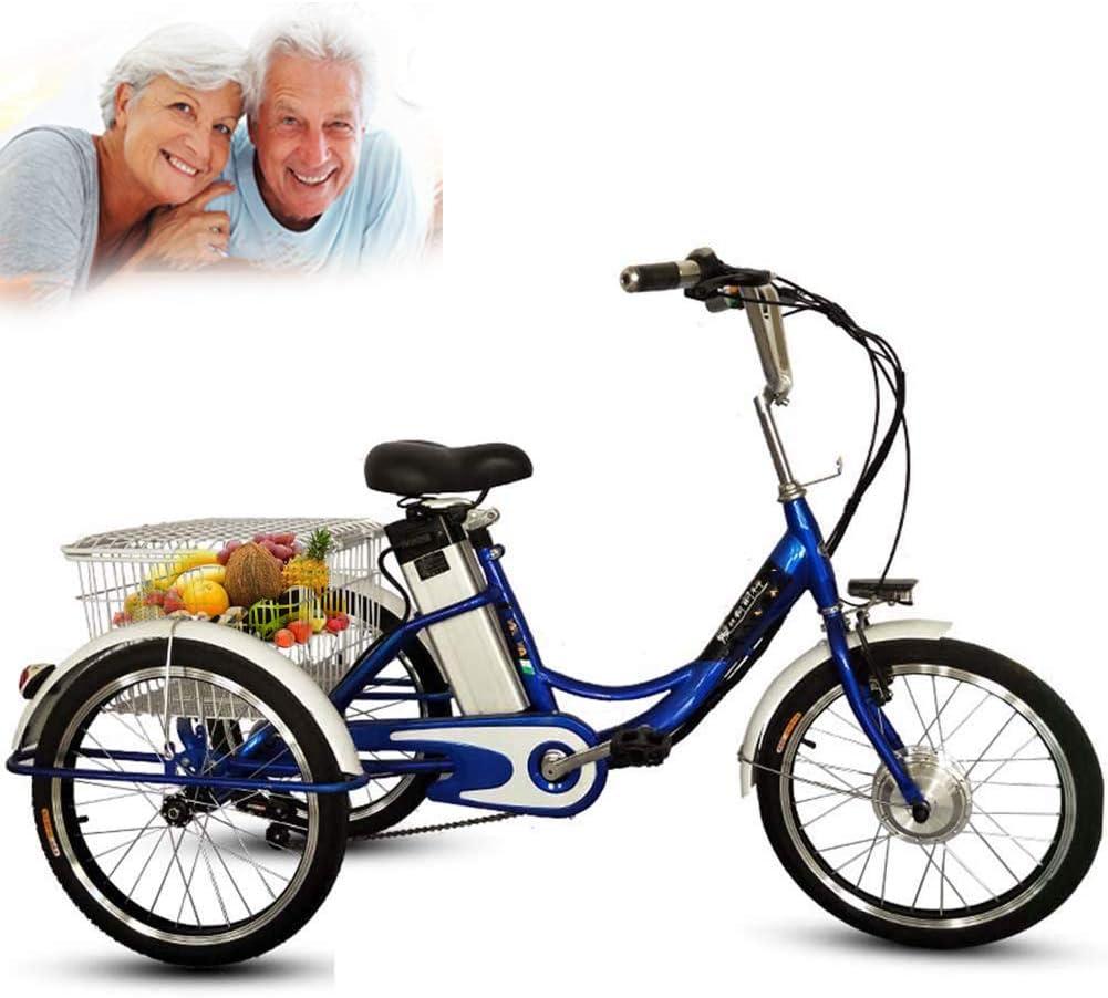 DNNAL Triciclo eléctrico para Adultos, 20