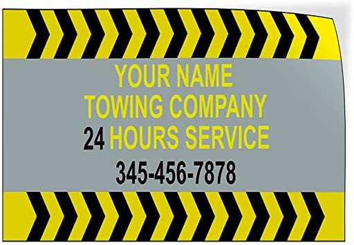 Custom Door Decals Vinyl Stickers Multiple Sizes We Now Deliver Phone Number Package Business We Now Deliver Outdoor Luggage /& Bumper Stickers for Cars Yellow 34X22Inches Set of 10
