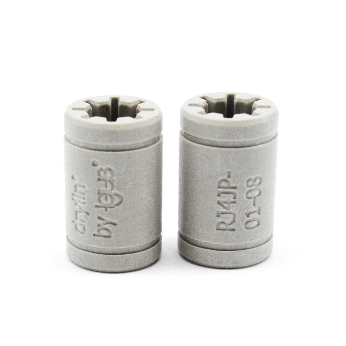 2 Pcs 3D Printer Solid Polymer LM10UU Bearing 10mm shaft Igus Drylin RJ4JP-01-10