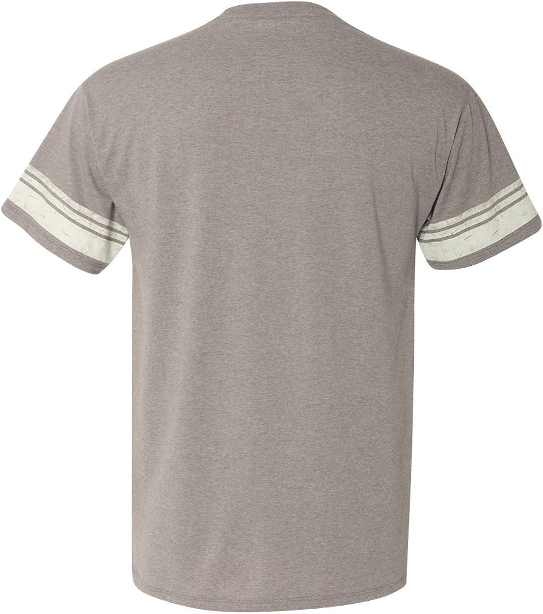Champion Mens Authentic Originals Triblend Short Sleeve Varsity Tee Shirt