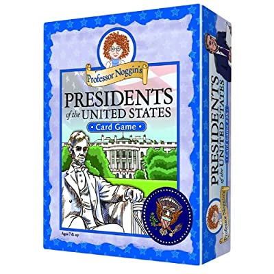 Professor Noggin\'s Presidents of the United States - A Educational Trivia Based Card Game For Kids: Toys & Games [5Bkhe1101272]