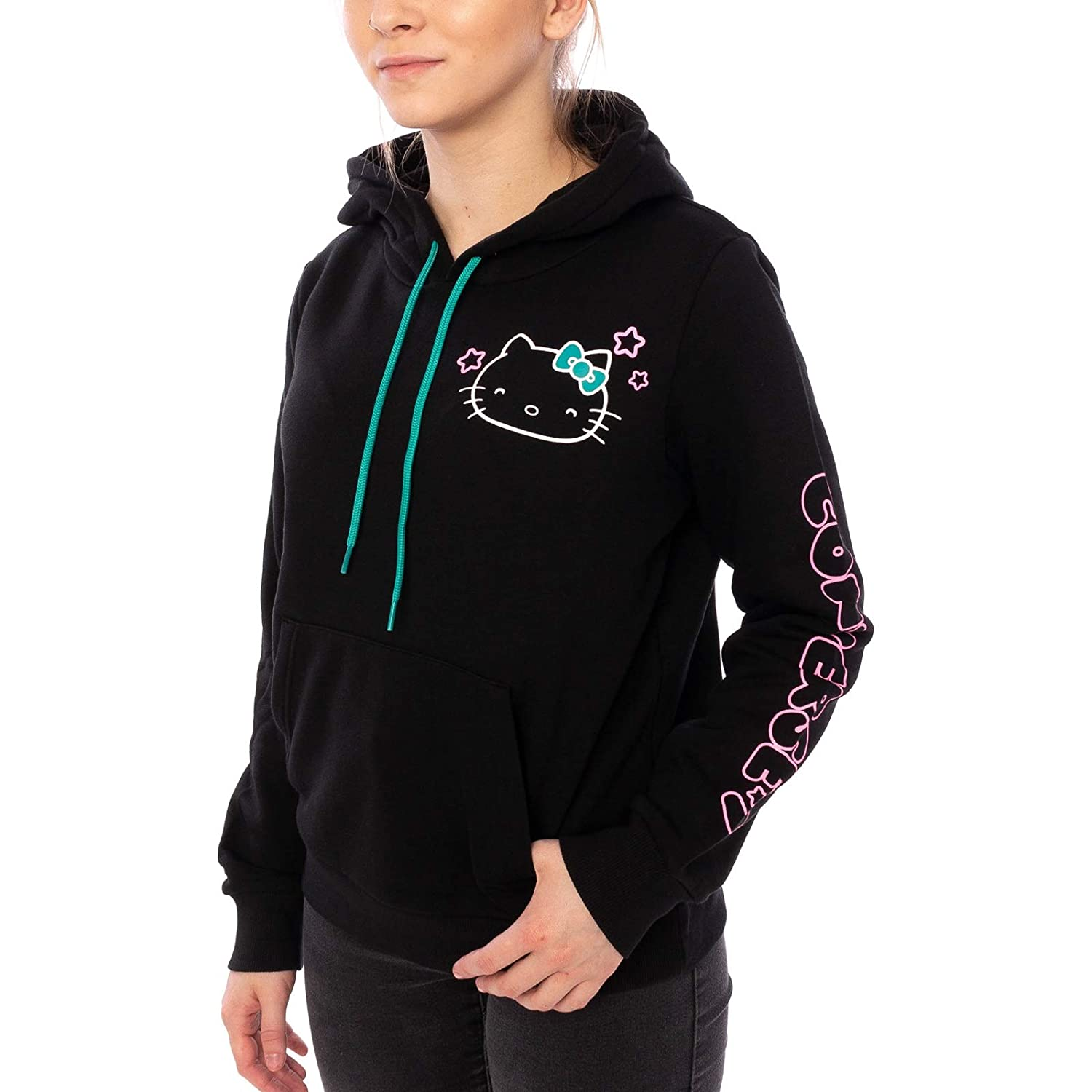 Converse Crop Hoody X Hello Kitty Stars