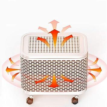... de calefacción de cerámica Calentador de protección contra sobrecalentamiento y volcado Estufa para Oficina en el hogar 2000W FM01: Amazon.es: Hogar