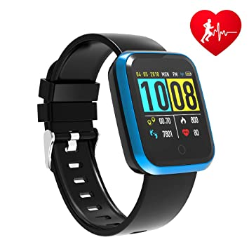 FOSUN N1 Reloj Inteligente, Fitness Tracker Smart Watch IP68 Rastreador de Actividad a Prueba de