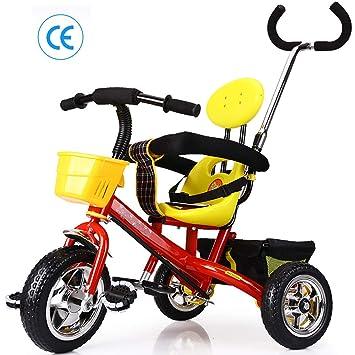 Triciclos Niños 2 Años Evolutivo, 3 en 1 Bicicletas con Barrera ...