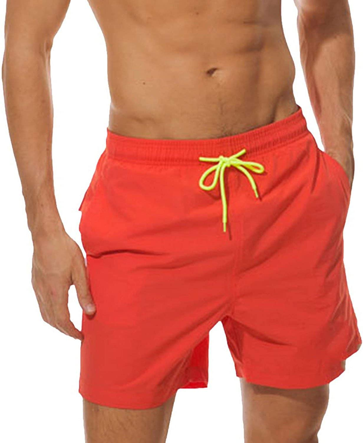 Axd-Home Men Beach Shorts Summer Water Sports Swimming Trunks