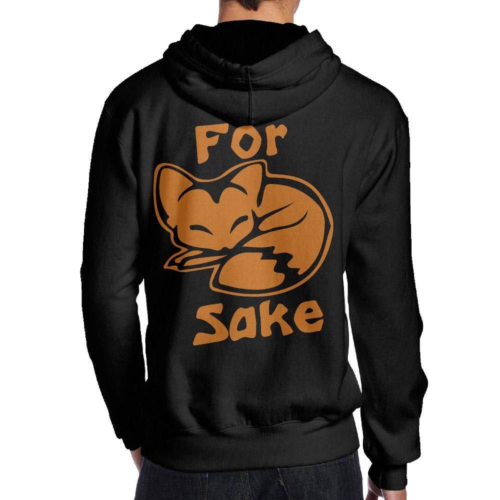 for Fox Sake Back Print Long-Sleeved Sweater for Man