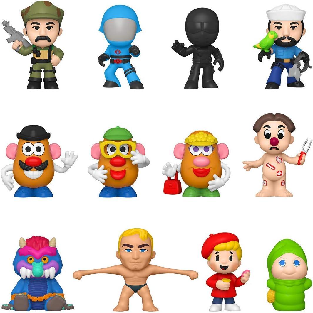 Multicolour Styles vary Joe Collectible Funko 51306 Mystery Mini: Retro Toys- Hasbro G.I