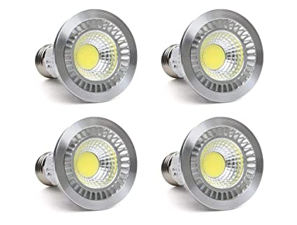 ctkcom, 5 W LED COB bombilla (4 unidades)-LED Spotlight Bombilla Downlight