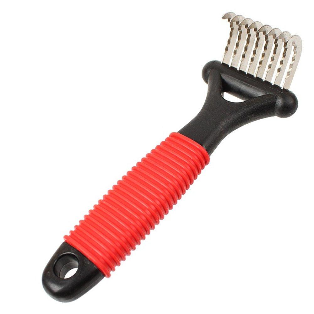 Plus Mi Life Pet Dog Cat Puppy Grooming Undercoat Rake Comb Hair Dematting Tool Combing Brush