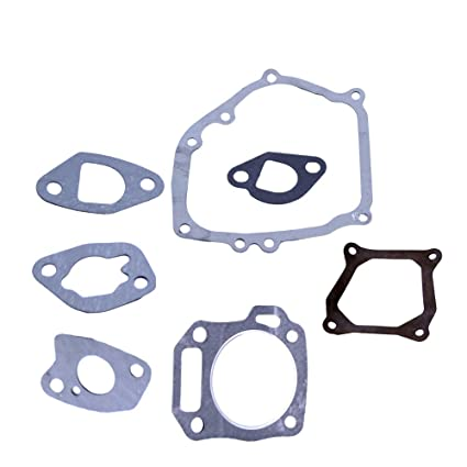 Podoy GX160 Cylinder Gasket Head Full Set with Oil Seal for Compatible with Honda GX200 5.5hp 6.5hp Engine