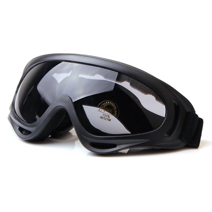TININNA vetri protettivi Occhiali di sicurezza Sci Occhiali All'aperto Sport Antipolvere Occhiali da sole Bicicletta Moto Ciclismo Occhiali Trasparente j2mVNUn