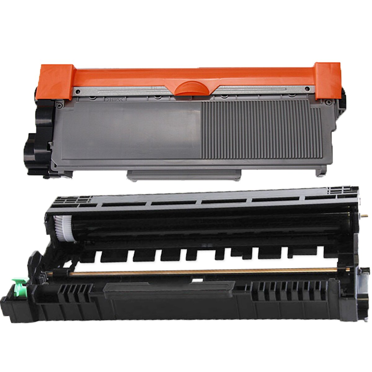 (1 Drum + 1 Toner) Inktoneram® Replacement High Yield toner cartridges & drum for Brother TN660 TN630 DR630 for Brother DR-630 TN-660 TN-630 Set DCP-L2520DW DCP-L2540DW HL-L2300D HL-L2320D HL-L2340DW HL-L2360DW HL-L23