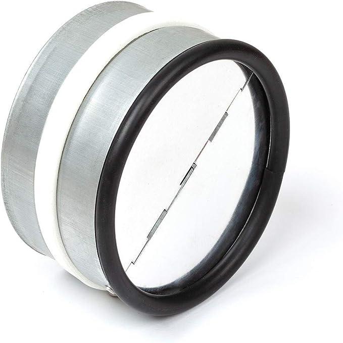 neverest RKI 100 mm Válvula Antirretorno Reduce el Ruido y Evita el Aire Frío por Tubo de Ventilación: Amazon.es: Bricolaje y herramientas