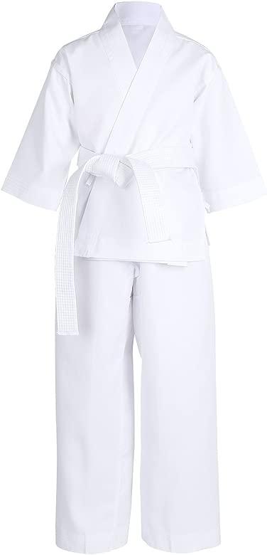 inlzdz Unisexo Kimono de Artes Marciales Infantil Ropa de ...