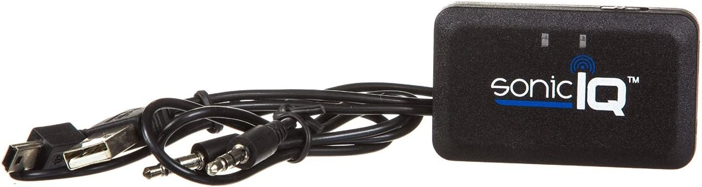 Sonic IQ BTR-24-2609 Bluetooth Audio Receiver (Black)
