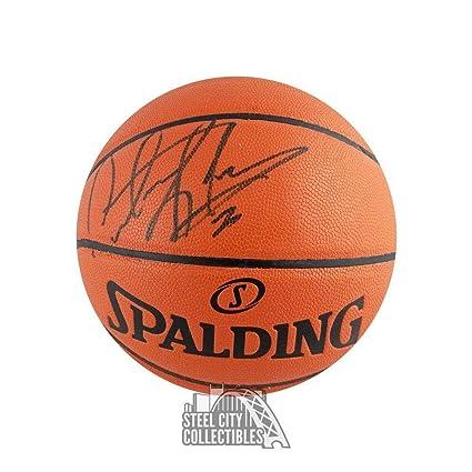 online store cd93a b6165 Signed Dennis Rodman Ball - Spalding COA - JSA Certified ...
