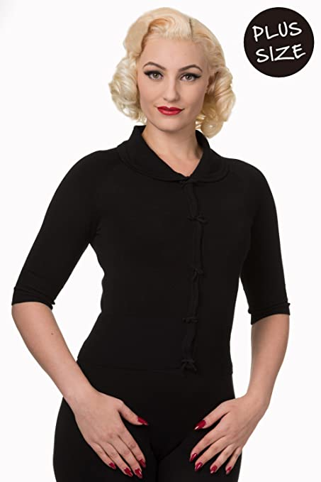 496b3c31e1b Banned Apparel April Short Sleeve Plus Size Vintage Cardigan