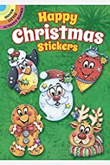 Happy Christmas Stickers (Dover Little Activity Books Stickers) by Teresa Goodridge (2016-06-20)