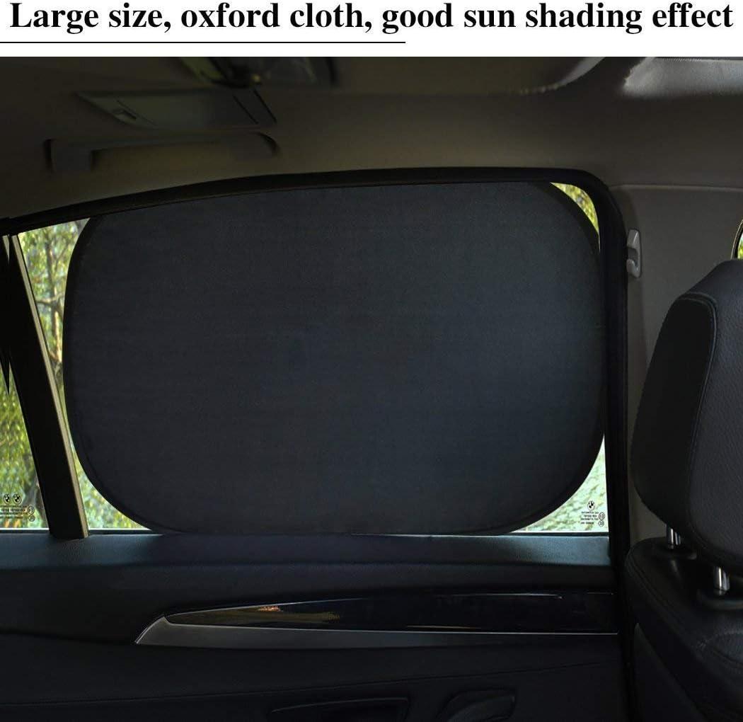 UV-Strahlen Schutz HelpAccess 4er Set Autofenster-Sonnenschutz 50 x 30 Größe